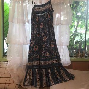 Knock off spell gypsy dress